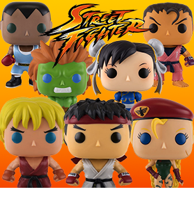 FUNKO POP! STREET FIGHTER