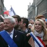 Bruno Gollnisch et Marion Maréchal Le Pen