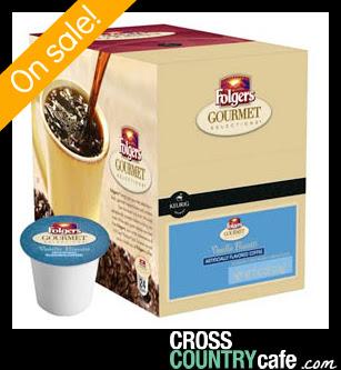 Folgers Vanilla Biscotti Keurig K-cup coffee
