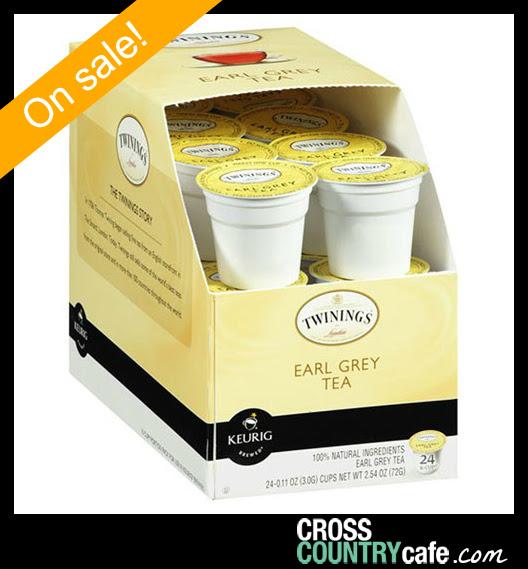 Twinings Earl Grey Keurig K-cup coffee