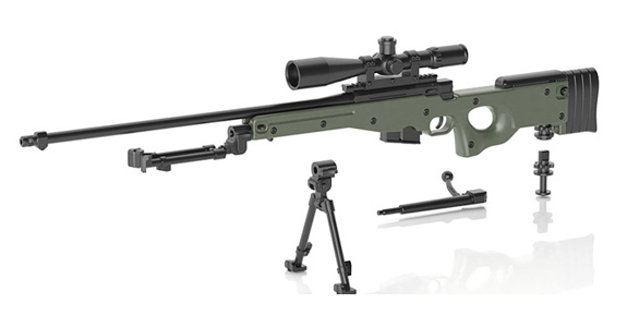 Little Armory L96AW Sniper Rifle 1/12 Scale Accessory