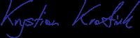 Podpis – Krystian Kratiuk