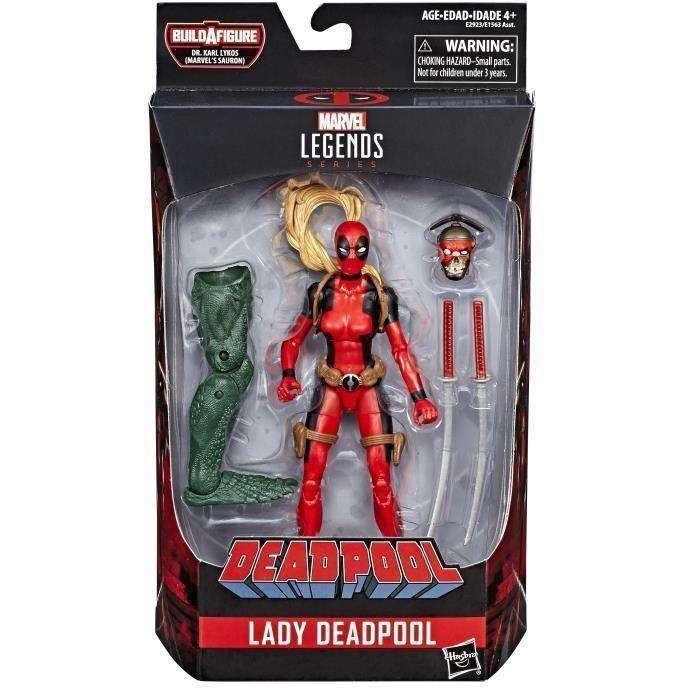 Image of Deadpool Marvel Legends Wave 2 (Sauron BAF) - Lady Deadpool