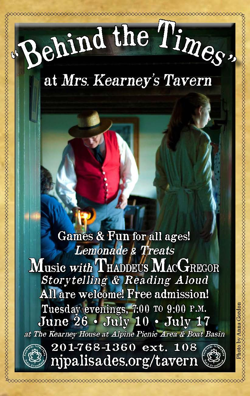 """""""Behind the Times at Mrs. Kearney's tavern"""""""