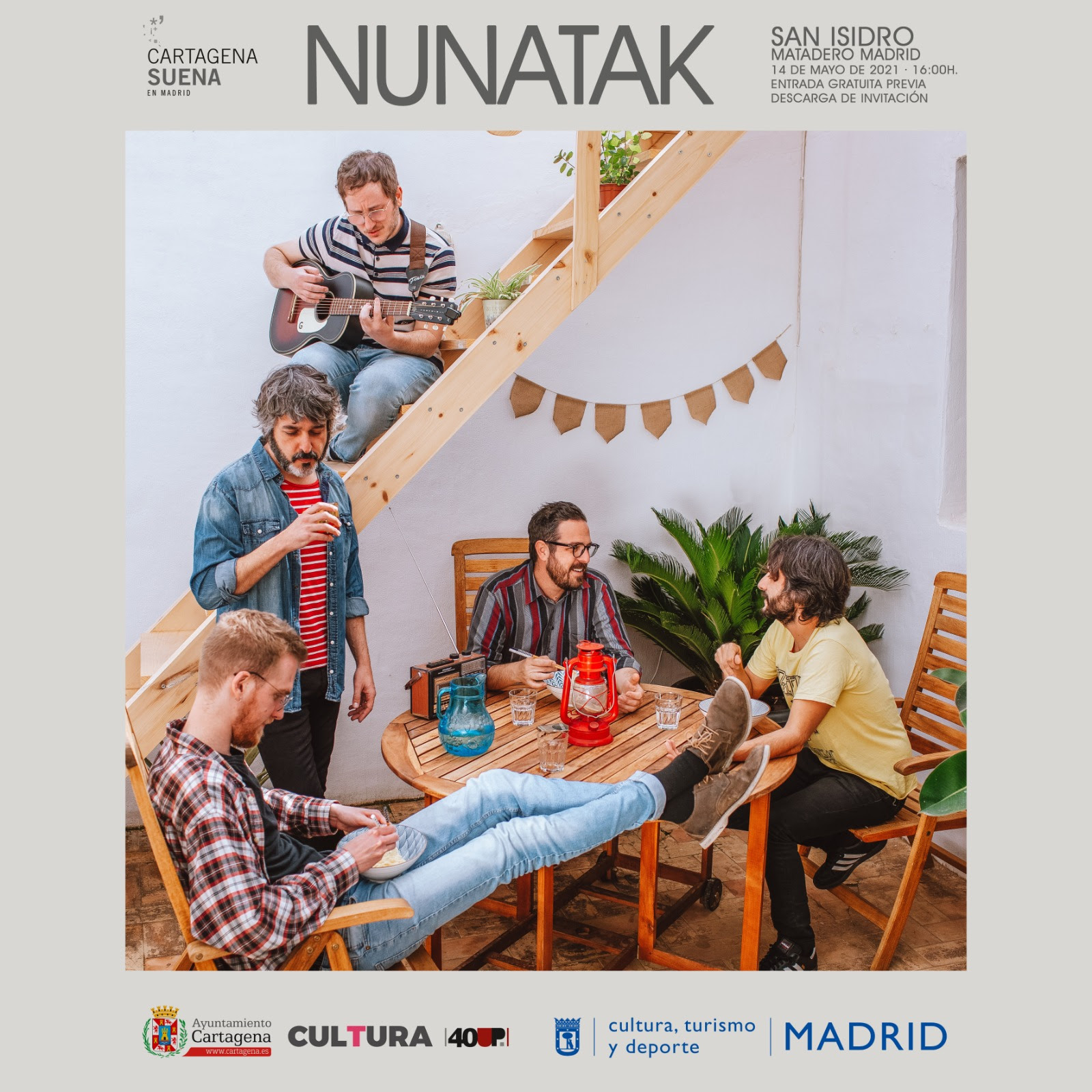 Nunatak - Cartagena Suena
