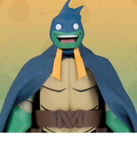 Batman vs. Teenage Mutant Ninja Turtles Michelangelo as Batman Limited Edition SDCC 2019 Exclusive