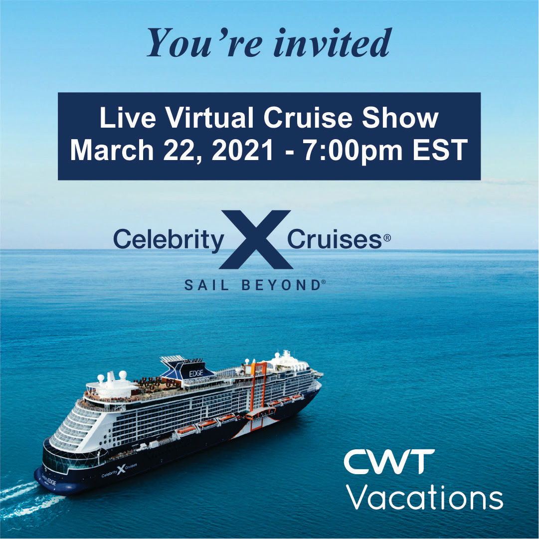 CWT Vacations Virtual Cruise Show