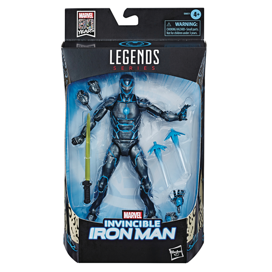 Image of Marvel Comics 80th Anniversary Marvel Legends - Stealth Suit Invincible Iron Man