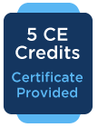 5CE Credits: Certificate Provided