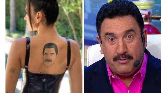 Dua Lipa mostra tatuagem falsa e internautas comparam ao Ratinho