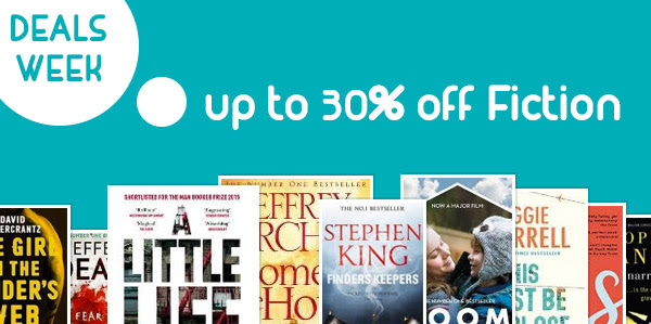 Save up to 30% off fiction books + free shipping worldwide at Book Depository.