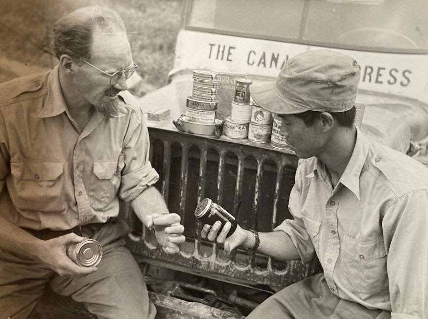 Estate auction chronicles the colourful life of war correspondent Bill Boss