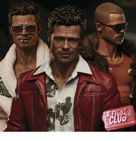 FIGHT CLUB 1/6 SCALE TYLER DURDEN FIGURES