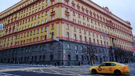 El edificio del FSB en la plaza Lubianka, en el centro de Moscú.