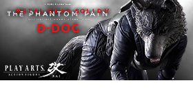 MGSV PLAY ARTS KAI D-DOG