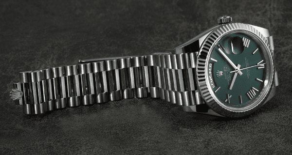 Day Date Green Dial