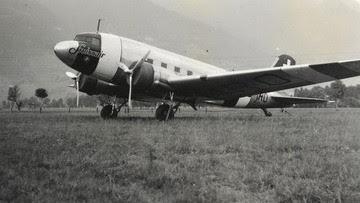 Douglas DC-3 neutrality colour scheme HB-IRO | Is due: Nov/Dec 2019