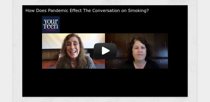 How Does Pandemic Effect The Conversation on Smoking?