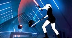 Trải nghiệm trò chơi VR đình đám Beat Saber trong hành động