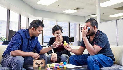 Inside Professor Nanayakkara's Futuristic Augmented Human Lab image
