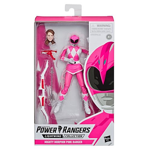 Image of Power Rangers Lightning Collection Series 2 - MMPR Pink Ranger 6-Inch Action Figure