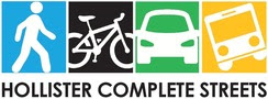 Hollister Avenue Complete Streets Logo