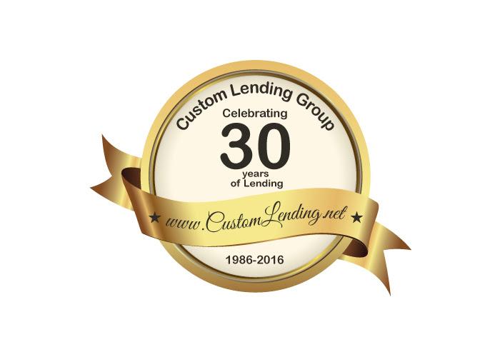 Custom Lending Group_s 30 year anniversary in mortgage lending.