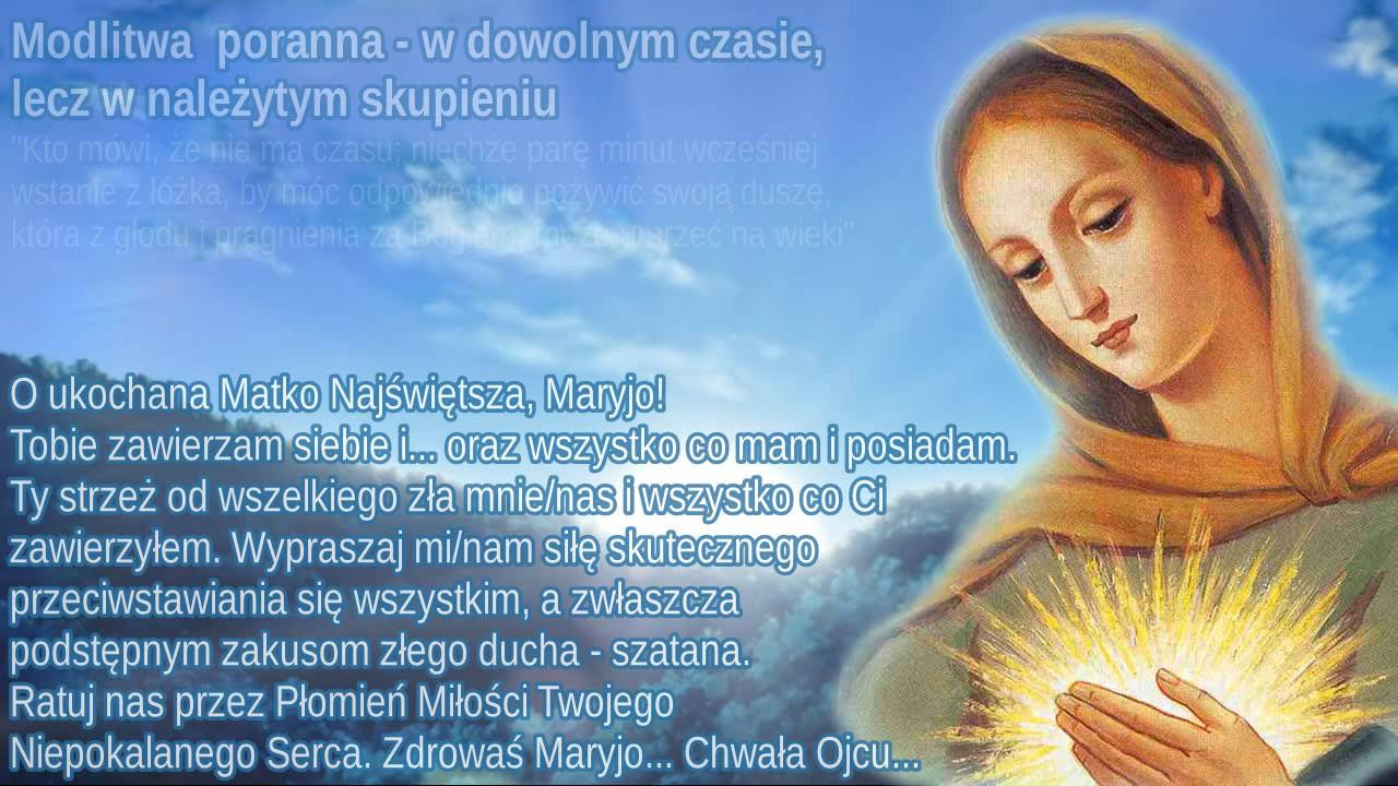 Znalezione obrazy dla zapytania MARYJO RATUJ NAS