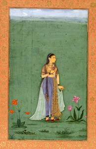 نادرہ بانو بیگم کی دارا شکوہ سے شادی 1633ء میں آگرہ میں ہوئی۔ — پینٹنگ پبلک ڈومین