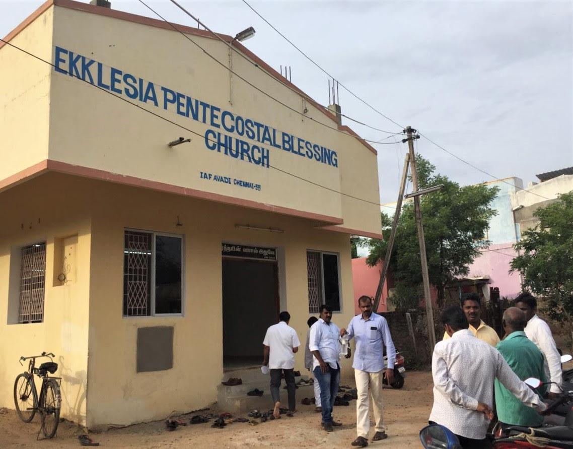 Ekklesia Pentecostal Blessing Church in metropolitan area of Chennai, Tamil Nadu, India. (Morning Star News)