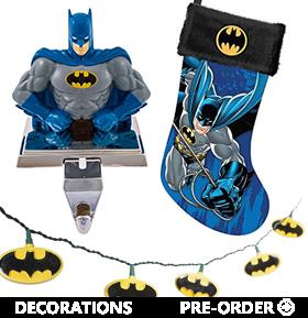 DC COMICS HOLIDAY DECORATIONS
