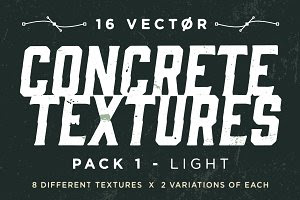 Vector Concrete Textures | Pack 1
