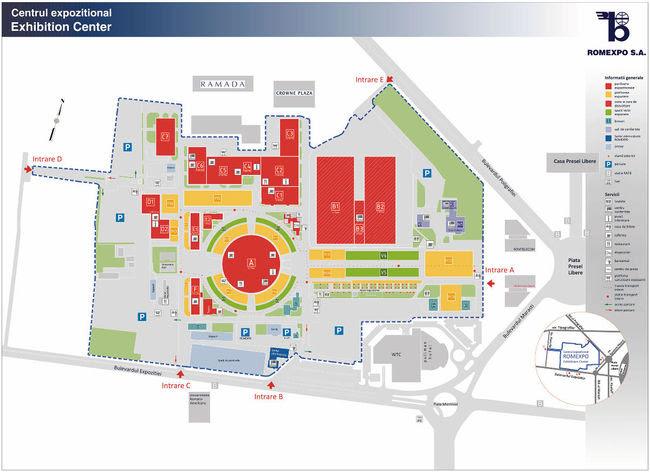 Harta Romexpo