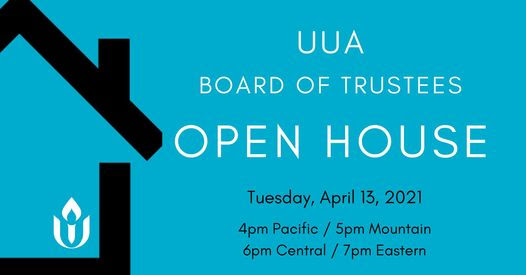 infographic uua board of trustees event