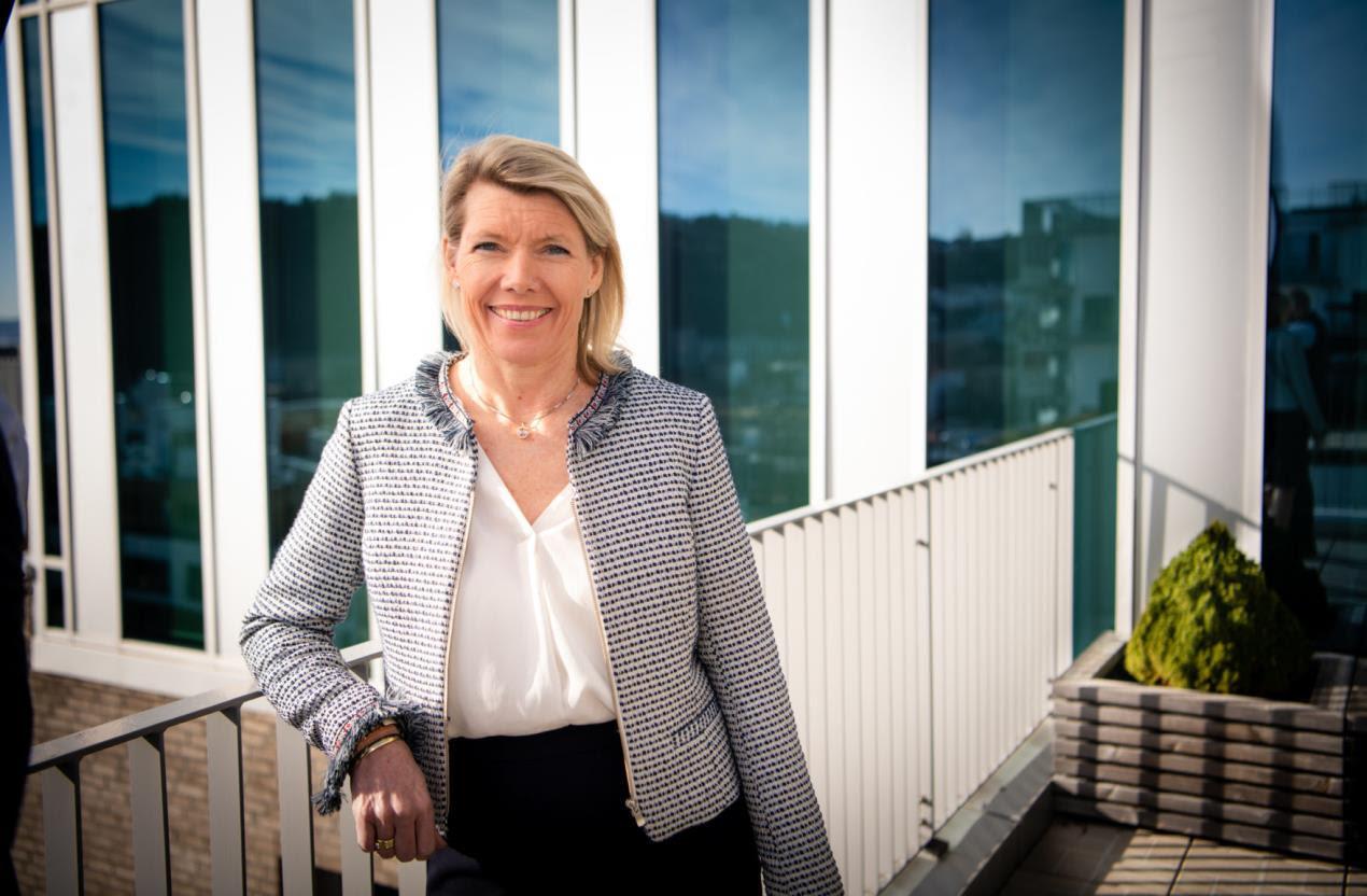DNB CEO Kjerstin Braathen - outlining opportunity at Ocean Now