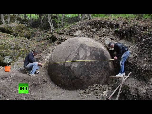 Russia Today films excavation of largest stone sphere on earth in Zavidovici, Bosnia  Sddefault