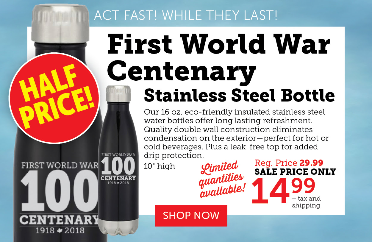 Stainless Steel Bottles - First World War