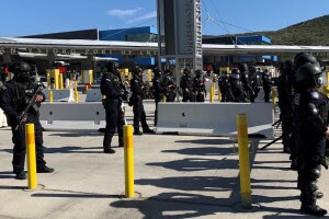 California border officers put through their paces in training exercises amid border crisis