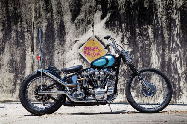 Panhead by Lowbrow Customs