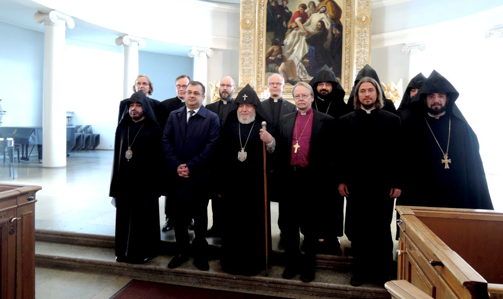 His Holiness Karekin II Visits Finland