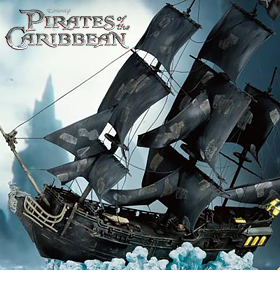 PIRATES OF THE CARRIBEAN BLACK PEARL EXCLUSIVE