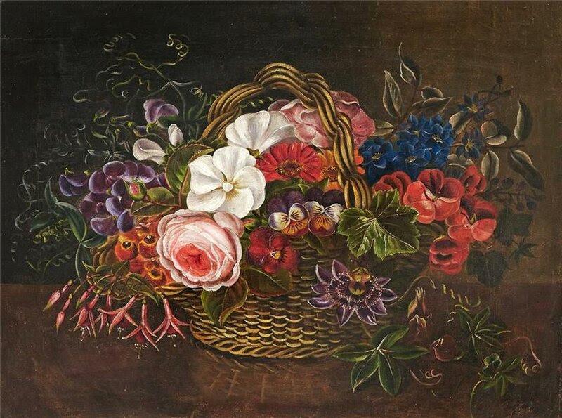 Jensen Johan Laurentz, датский художник, 1800-1856