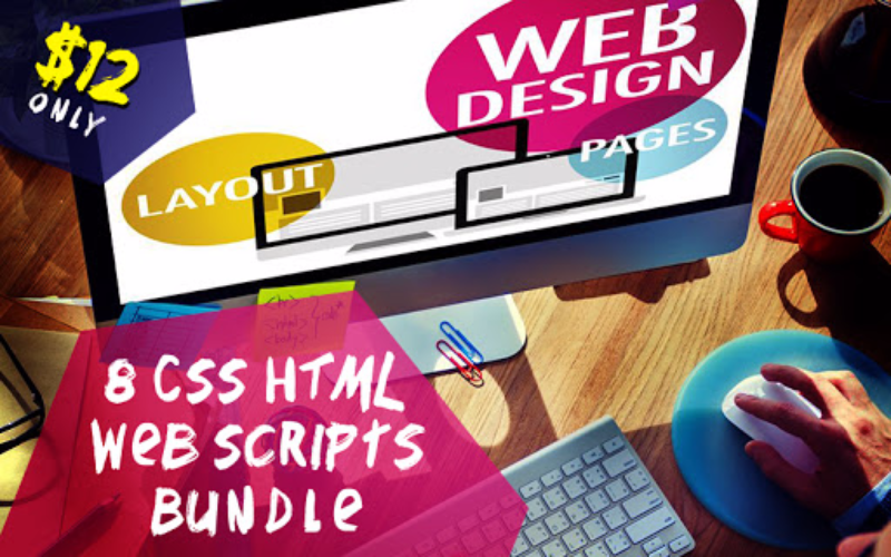 8 CSS HTML Web Scripts