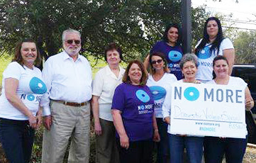 Operation Care Staff & Board Members say NO MORE Domestic Violence & Sexual Assault!
