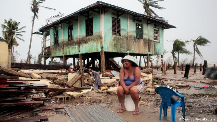 Nicaragua Zerstörung duch den Hurrikan Iota