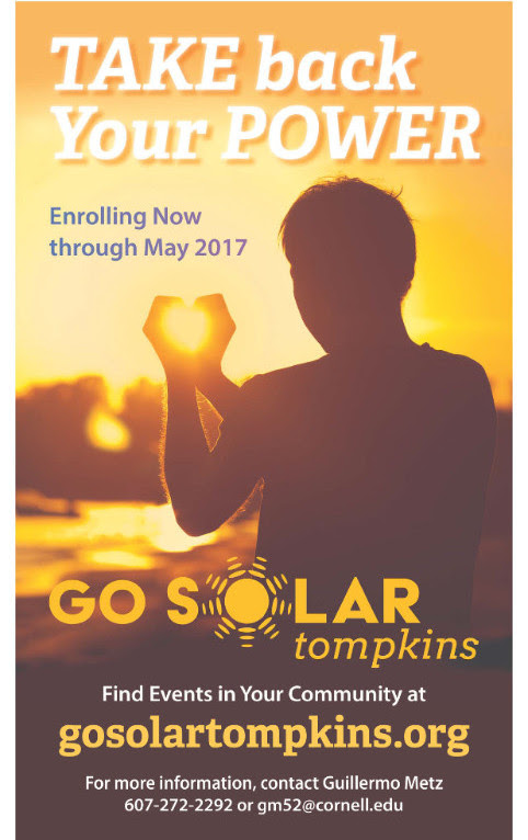MARCH 2017 ITHACA SUSTAINABILITY NEWSLETTER