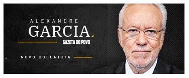 Alexandre Garcia - Novo Colunista da Gazeta do Povo