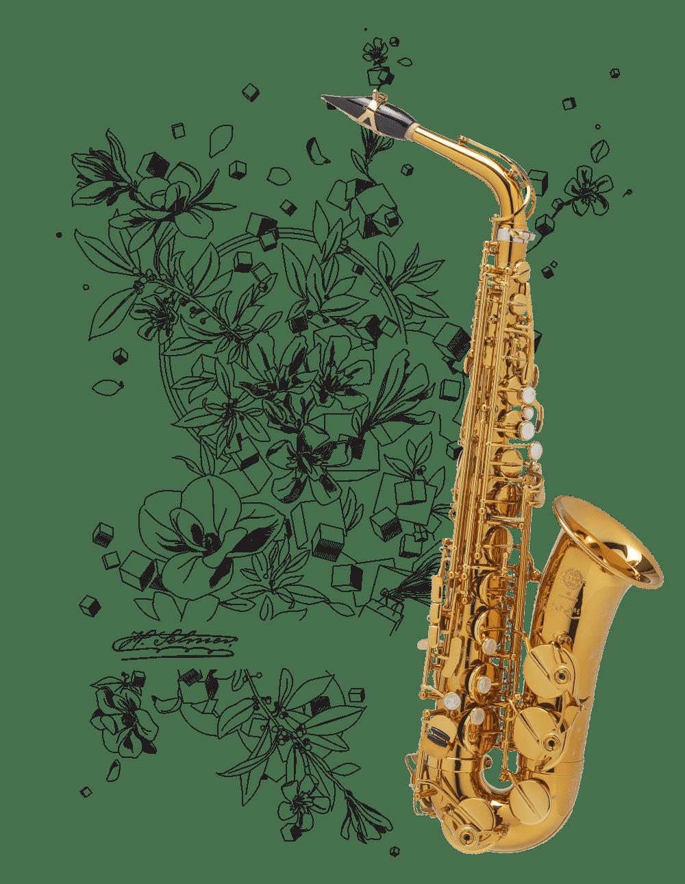 Supreme, le nouveau saxophone alto Henri SELMER Paris
