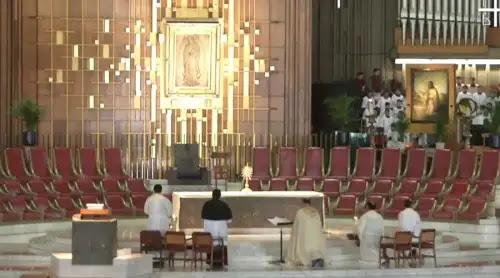 Mater Fátima: Así se sumó la Basílica de Guadalupe al Rosario mundial por la paz [VIDEO]