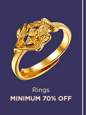 Rings at Min.70% Off